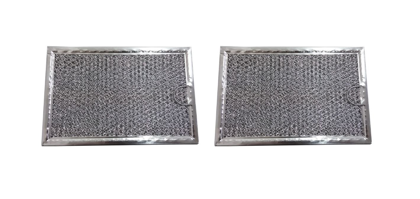 New 2 Pack Aluminum Mesh Microwave Grease Filter for Frigidaire 5304464105