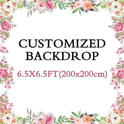 Yongfoto Personalisiert 2x2m Vinyl Foto Hintergrund Kamera