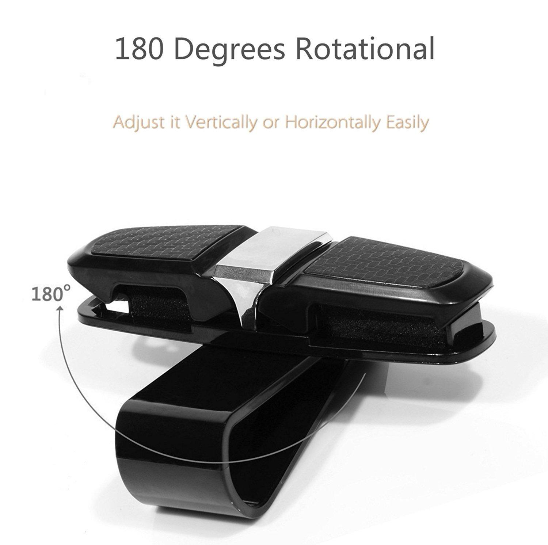 UCTOP STORE 2 Sets of Carbon Fiber Glass Sunglass Holder Rack Car Auto Sun Visor Clip Holder Carbon Sunglasses Holder Clip Glasses Cage Storage