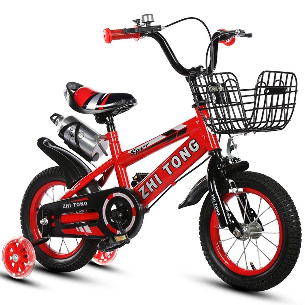 子供の自転車、カップ自転車の男の子プリンセス自転車多機能の創造自転車の長さ88-121CM (色 : 赤, サイズ さいず : 88CM) B07CWC1S27 88CM|赤 赤 88CM