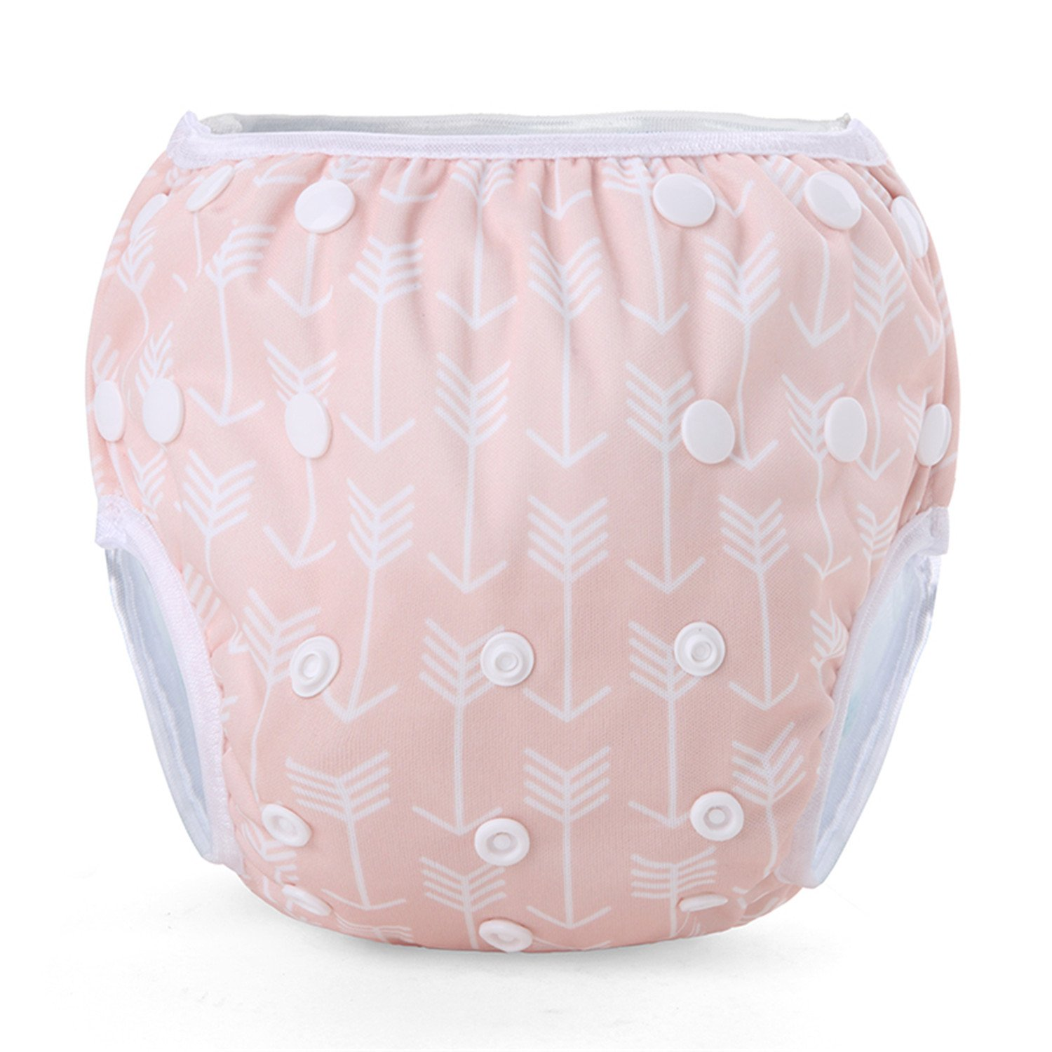 Pack of 2 Storeofbaby 2pcs Reusable Washable Baby Swim Diapers with Adjustable Snaps