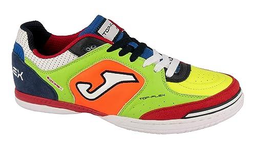 ZAPATILLA FUTBOL SALA JOMA TOP FLEX MULTICOLOR - 38: Amazon.es: Zapatos y complementos