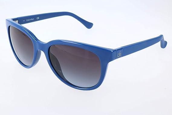 Calvin Klein Mujer oK Gafas de sol, Azul (Blue), 54: Amazon ...