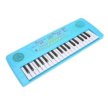 aPerfectLife Teclado Teclado Multi-función Teclado Electrónico para Piano Orquesta de Piano para Niños con