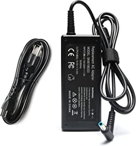 SKstyle 19.5V 3.33A 65W AC Adapter Charger for HP ProBook 430 G4;440 G4;450 G4;455 G4;470 G4 Power-Supply-Cord (Blue Tip,Slim,-12 Months Warranty)