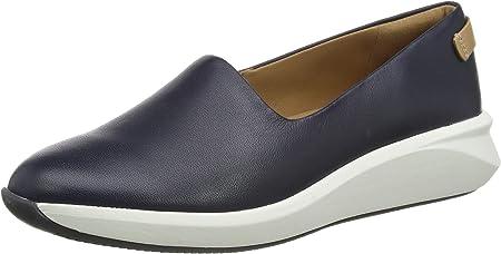 Clarks Un Rio Step, Zapatillas sin Cordones para Mujer