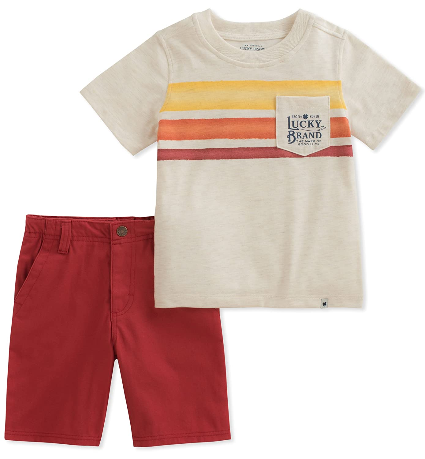 Lucky Brand Boys' Shorts Set