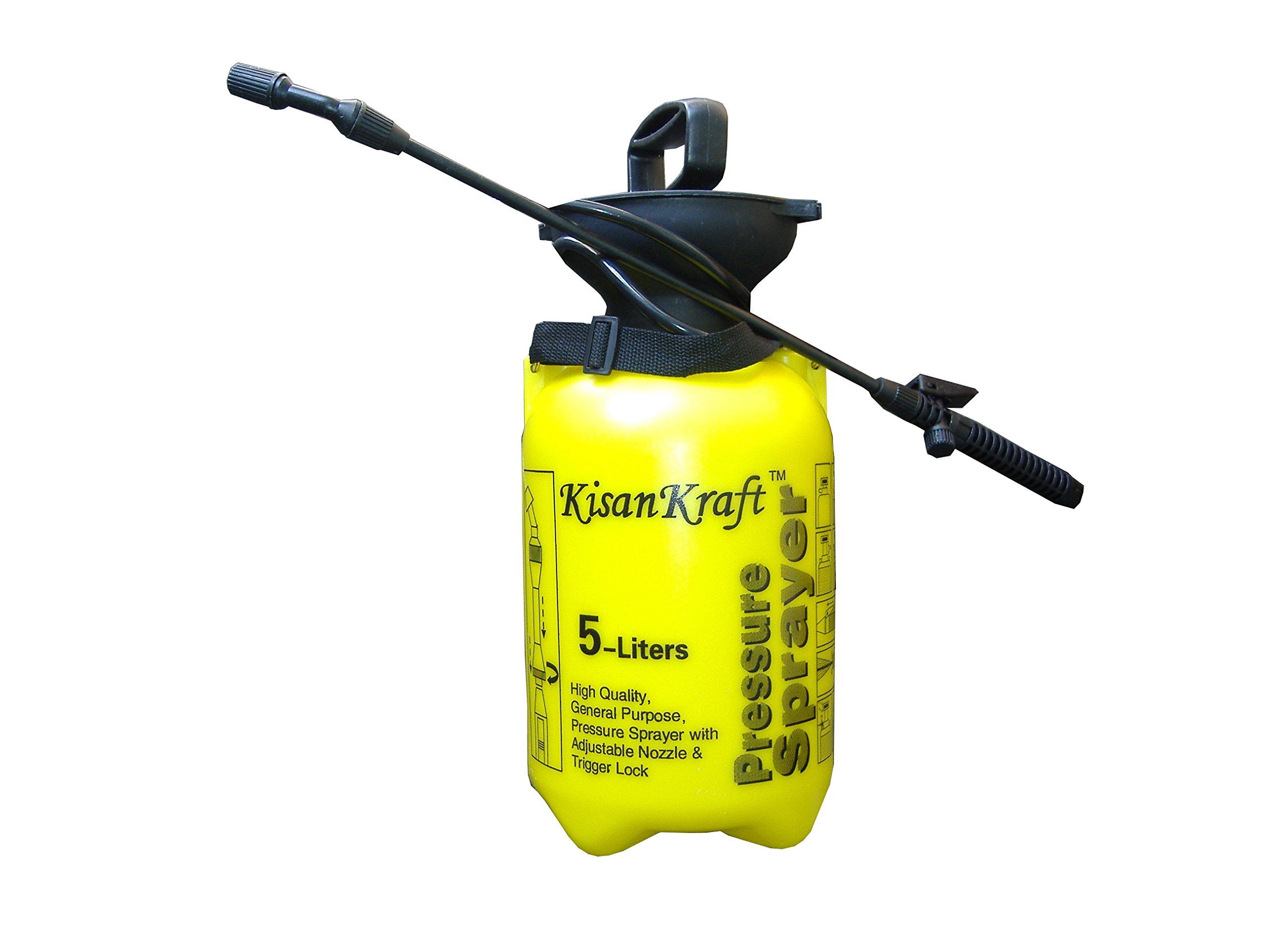 Kisan Kraft Hand Pressure Sprayer 5 Liter Compressed Air Sprayer Garden Sprayer product image