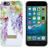 Coque arrière rigide pour iPhone 6/6S - Toucher Soyeux - Collection P-E 16 TED BAKER® - Imprimé Fleurs Hanging Gardens