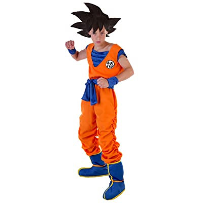 Goku Costume for Kids Boys Dragon Ball Z Costume: Clothing