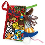 Amison Animal Tails Cloth book Baby Toy Cloth Development Books Learning & Education books Pattern 3