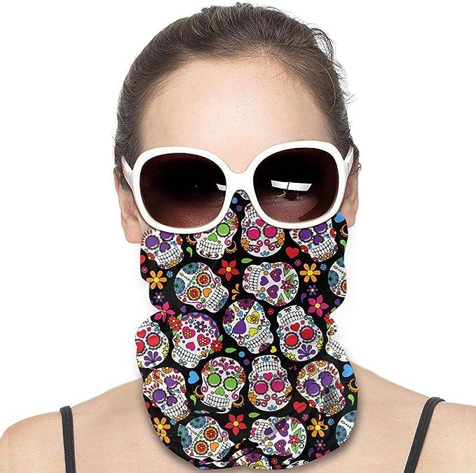 3D Printed Multifunctional Scarf,Headwear,Balaclava,Neck Gaiter,Bandana