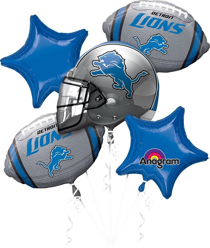 Anagram Bouquet Lions Foil Balloons, Multicolor