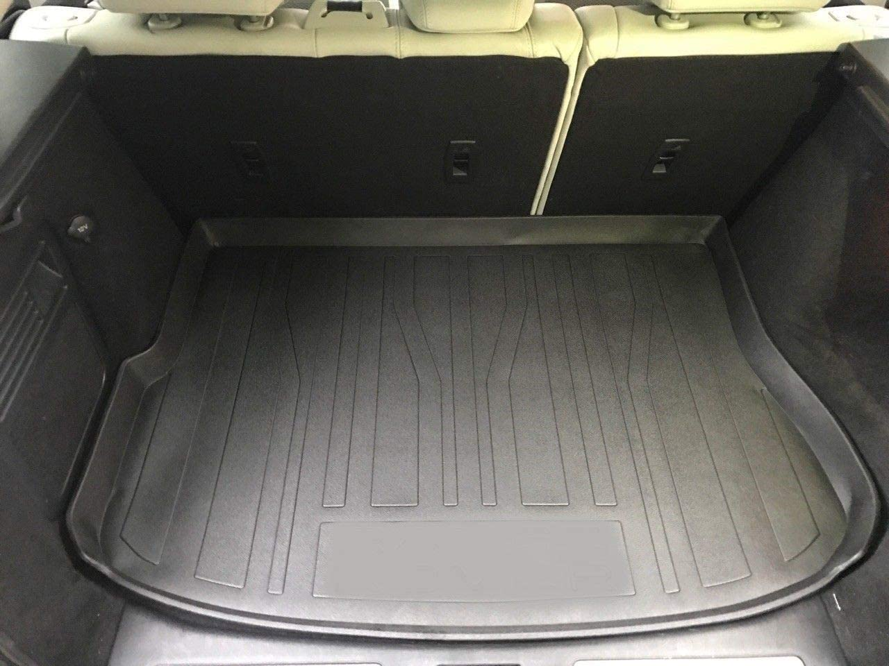 Rear Trunk Liner Tray Mat Pad for LAND ROVER RANGE ROVER EVOQUE 2012 2013 2014 2015 2016 2017 2018 2019 Floor Cargo Cover Tray Protection Dirt Mud Snow All Weather Season Waterproof 3d Laser Measured