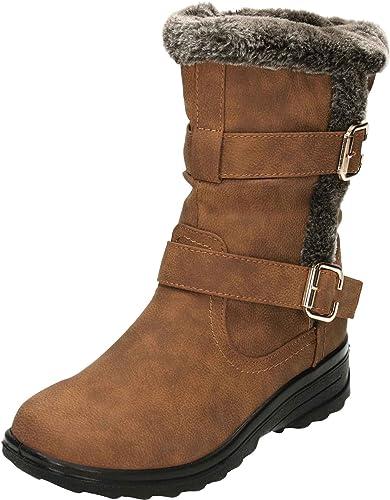 Cushion-Walk Women's Ace Mid Calf Boots