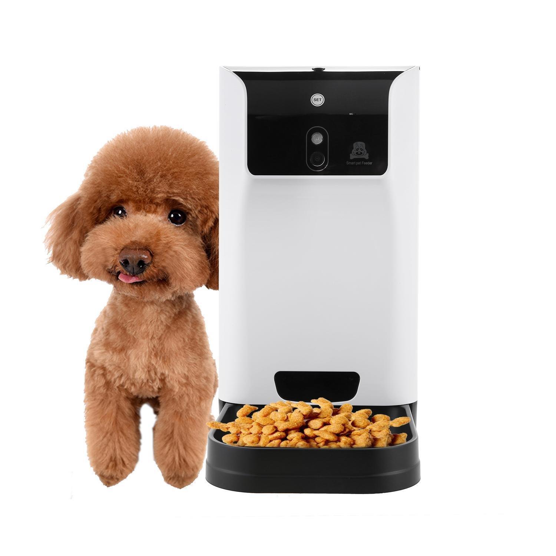 Pet Supplies : Oguine Smart Pet Feeder with Voice Recorder ...