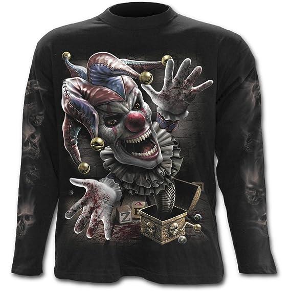 a8a92839ebac Spiral - JACK IN THE BOX - Longsleeve T-Shirt Black  Amazon.ca ...