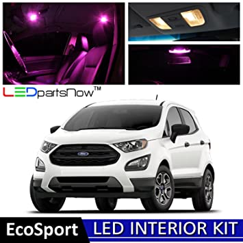 Ledpartsnow  Ford Ecosport Led Interior Lights Accessories Replacement Package Kit  Pieces
