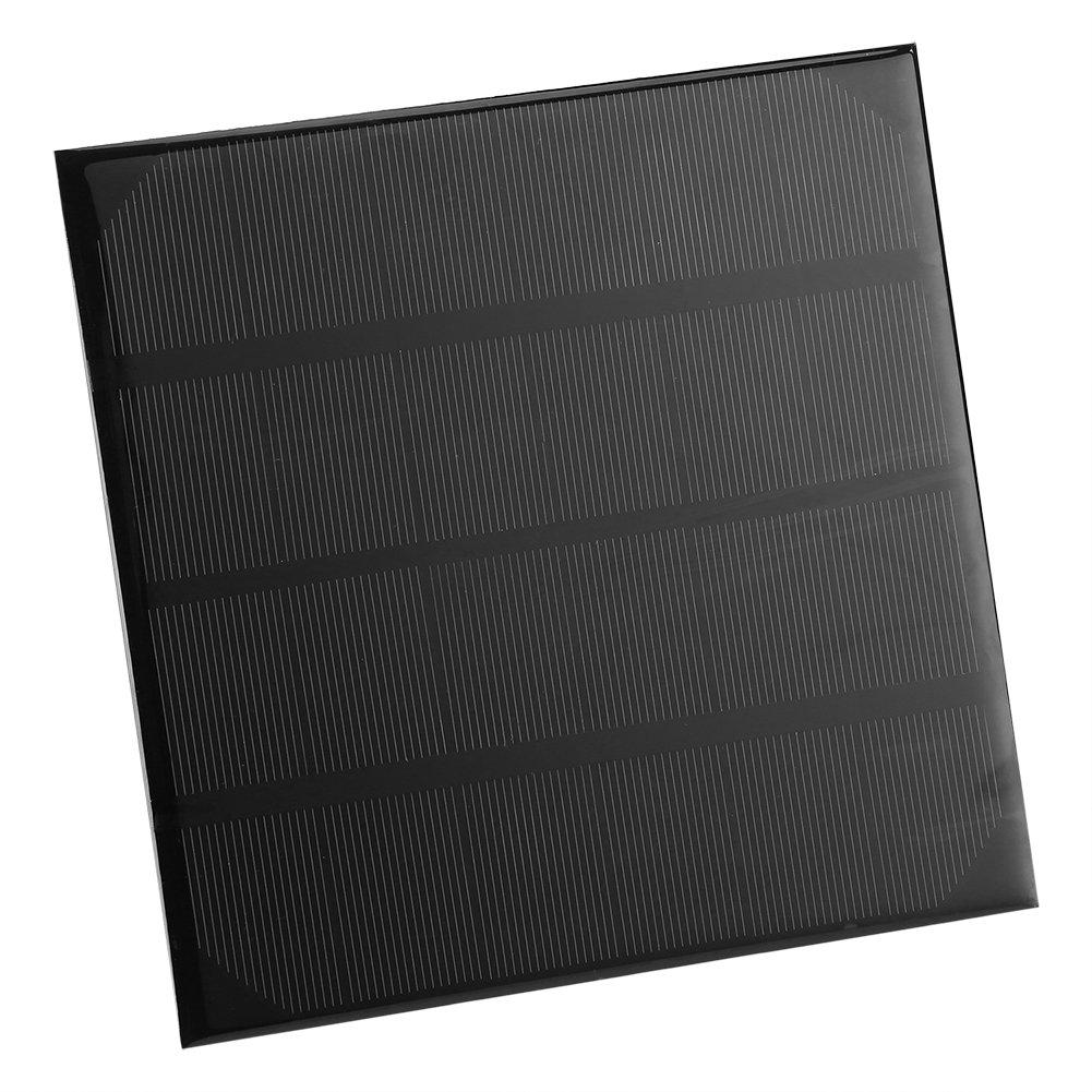 Panel Solar Mó dulo de Panel Solar Monocristalino del Cargador del Panel Solar 6V 4.5W para Las Baterí as del Barco del Tractor de La Motocicleta del Automó vil Zerodis