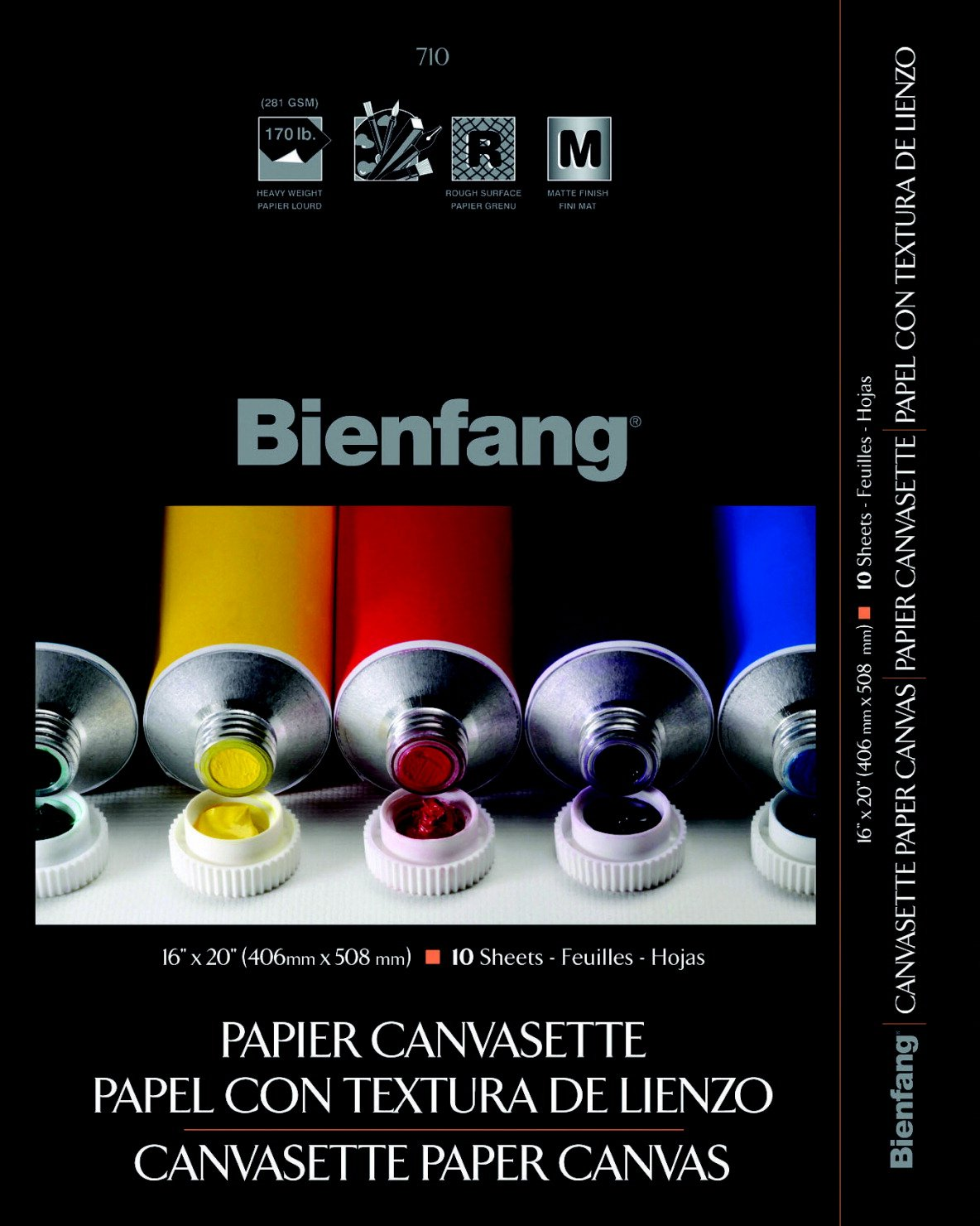 Canvasette Paper Pad Size: 16'' H x 20'' W by Bienfang