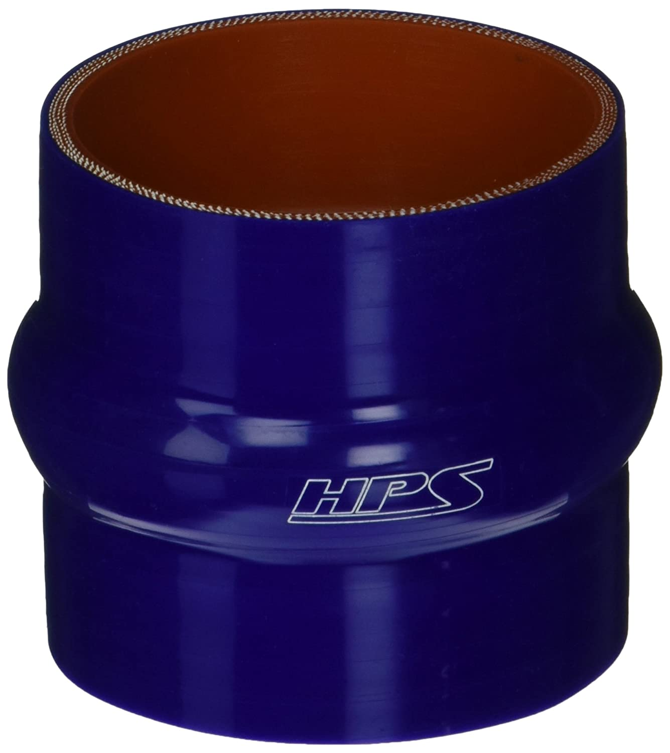Blue 3 Length 3 ID HPS Silicone Hoses 60 PSI Maximum Pressure 3 Length 3 ID HPS HTSHC-300-BLUE Silicone High Temperature 4-ply Reinforced Straight Hump Coupler Hose