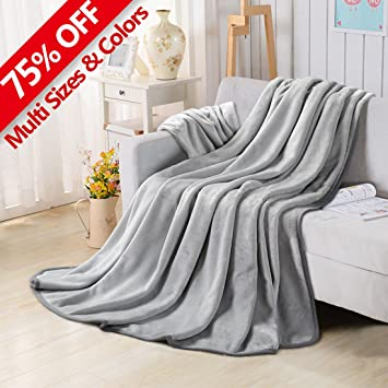 Good Fleece Blankets For The Bed Extra Soft Brush Fabric Super Warm Sofa Blanket  (Throw