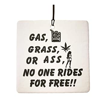 90ed80fa11abf Gas Grass Or Ass Car Air Freshener