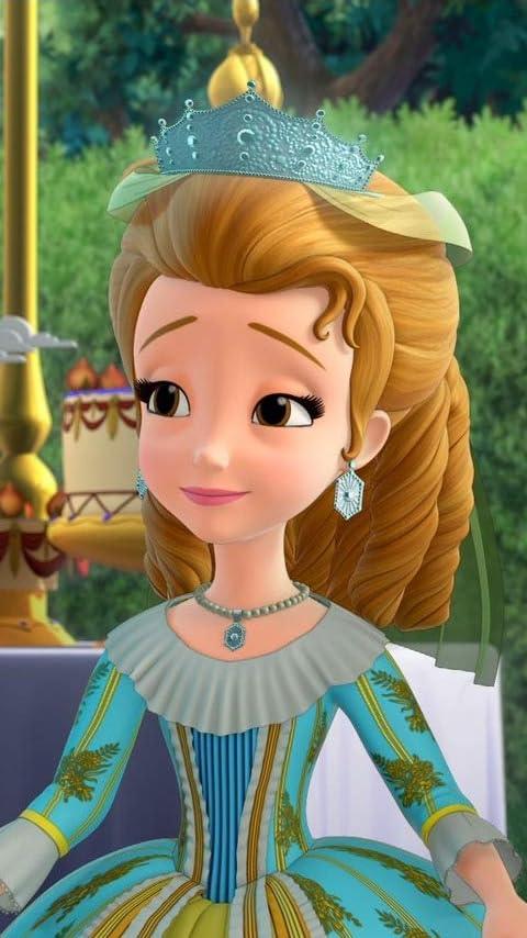 ディズニー 『ちいさなプリンセス ソフィア』アンバー (Princess Amber) XFVGA(480×854)壁紙画像