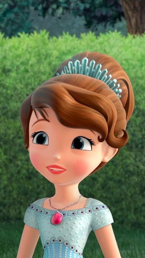 ディズニー 『ちいさなプリンセス ソフィア』ソフィア (Princess Sofia) XFVGA(480×854)壁紙画像
