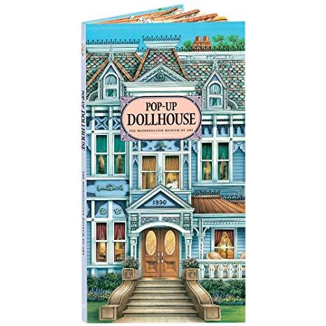 Amazon Com Victorian Dollhouse Furniture Included In Pop Up Book 8