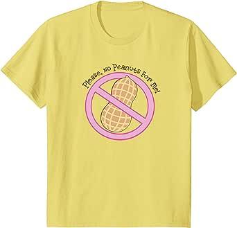 Amazon.com: Kids Peanut Allergy T-shirt Food Allergies ...