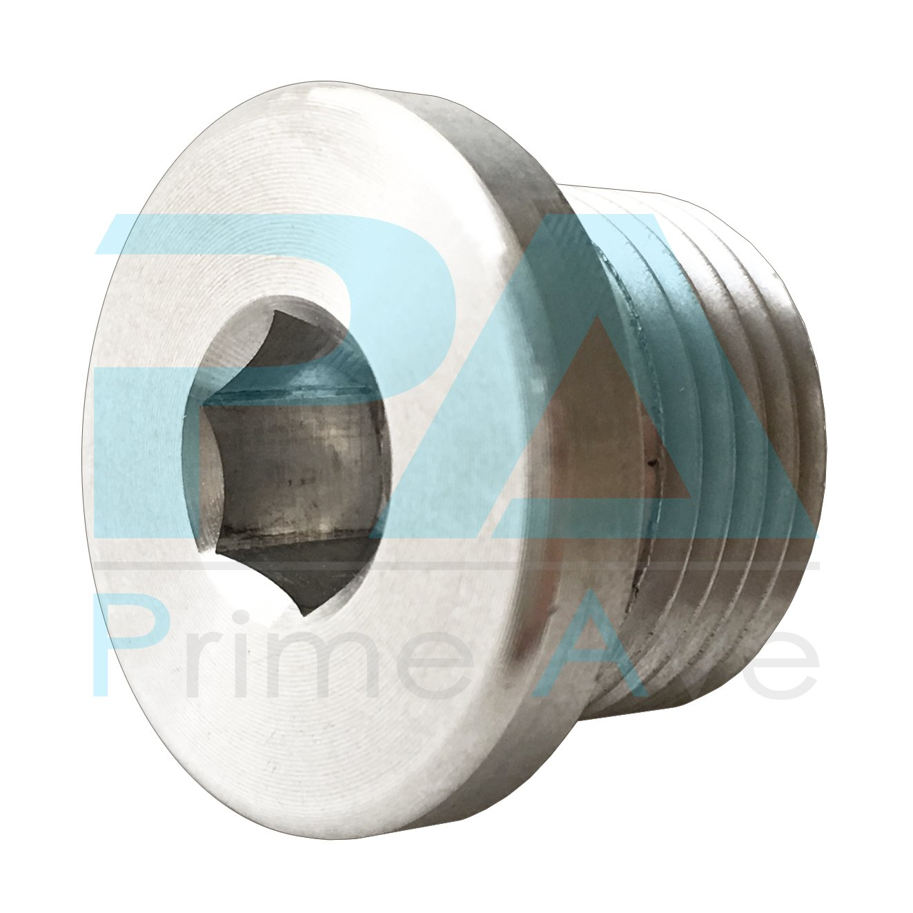 PA (2) OEM Aluminum Oil Drain Plug + (10) Crush Aluminum Gasket Washers For Porsche Prime Ave