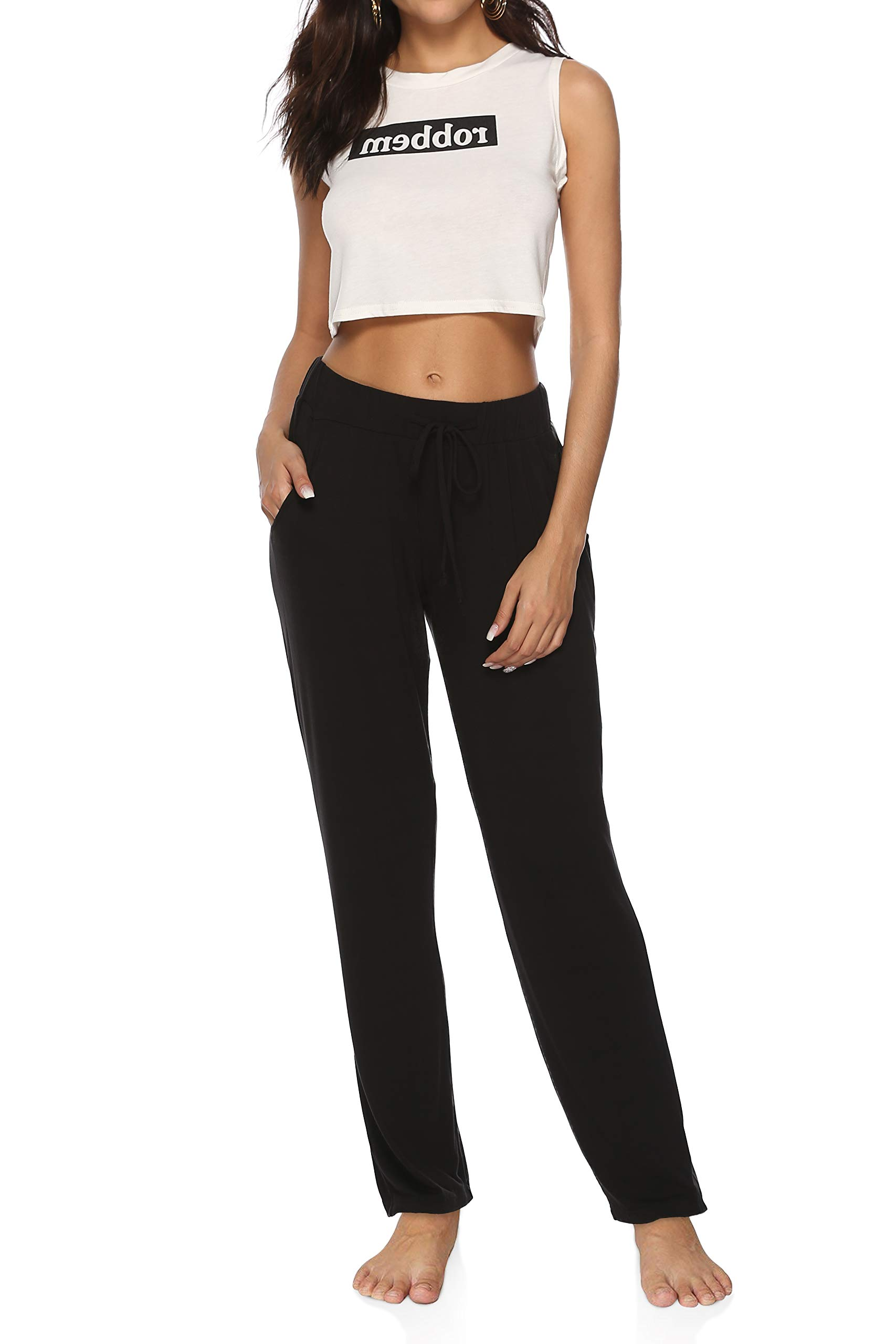 Power Flex Gym Leggings Women Solid Yoga Pant High Waist