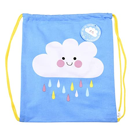 Rex International Happy Cloud - Mochila saco, unisex