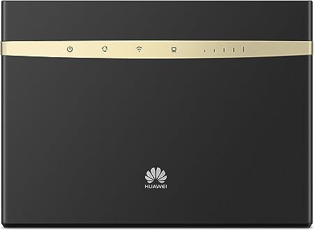 Huawei B525s-23a - Router Wi-Fi 4G LTE (300Mbps de conexión inalámbrica, Wi-Fi Hotspot móvil con 3 Antenas, Banda Dual 2.4G&5G, tecnología MIMO, ...