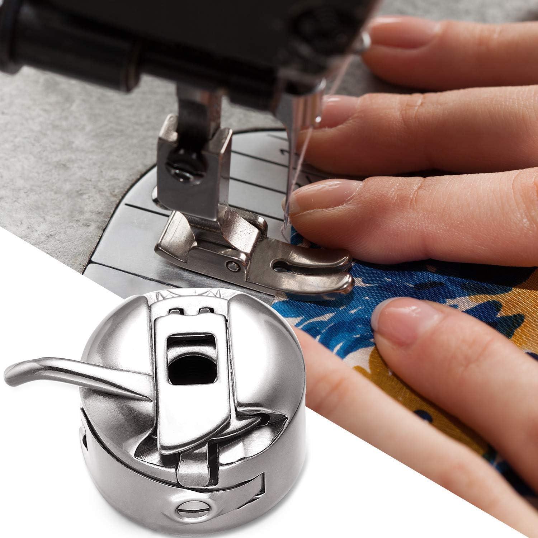 10 stk Spulenkapsel Metall Spulen Nähmaschinenspulen für Nähmaschine Werkzeuge