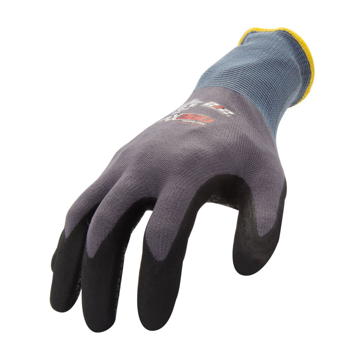 212 Performance Gloves AXDG-16-012PR AX360 Dotted Grip Nitrile-dipped Work Glove, 1-Pair, XX-Large