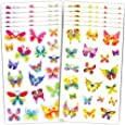 Butterfly Stickers Party Supplies Mega Pack -- Over 600 Butterflies Stickers (48 Party Favor Sheets)