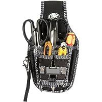 Werkzeuggürtel MOHOO 9 in 1 Werkzeugtasche befestigung am Gürtel guten Werkzeugbeutel für Werkzeugen, Schraubendreher und Bohrern etc.