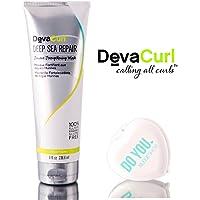 DevaCurl DEEP SEA REPAIR Seaweed Strengthening MASK (with Sleek Compact Mirror) (8 oz)