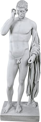 Design Toscano Marcellus Statue,antique stone