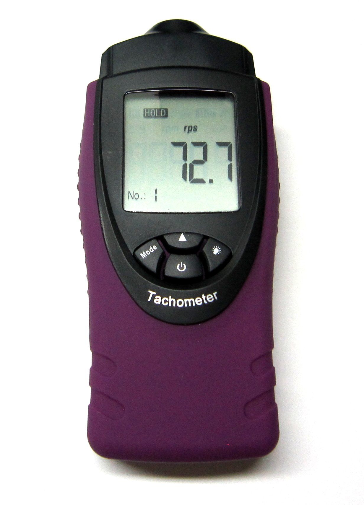 Professional Handheld Digital Laser Photo Tachometer RPM and RPS Tach Small Engine Motor Speed Gauge ST8030