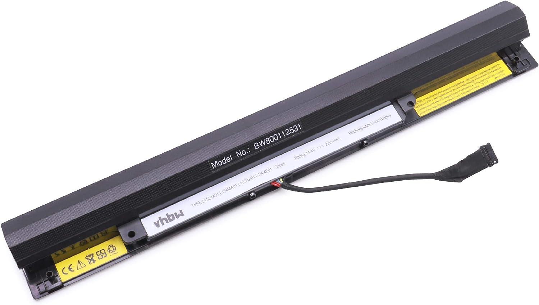 Vhbw Akku Passend Für Lenovo Ideapad 100 80qq Computer Zubehör