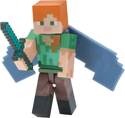 Minecraft 16492 Alex - Figura de alas Elytra: Amazon.es: Juguetes ...