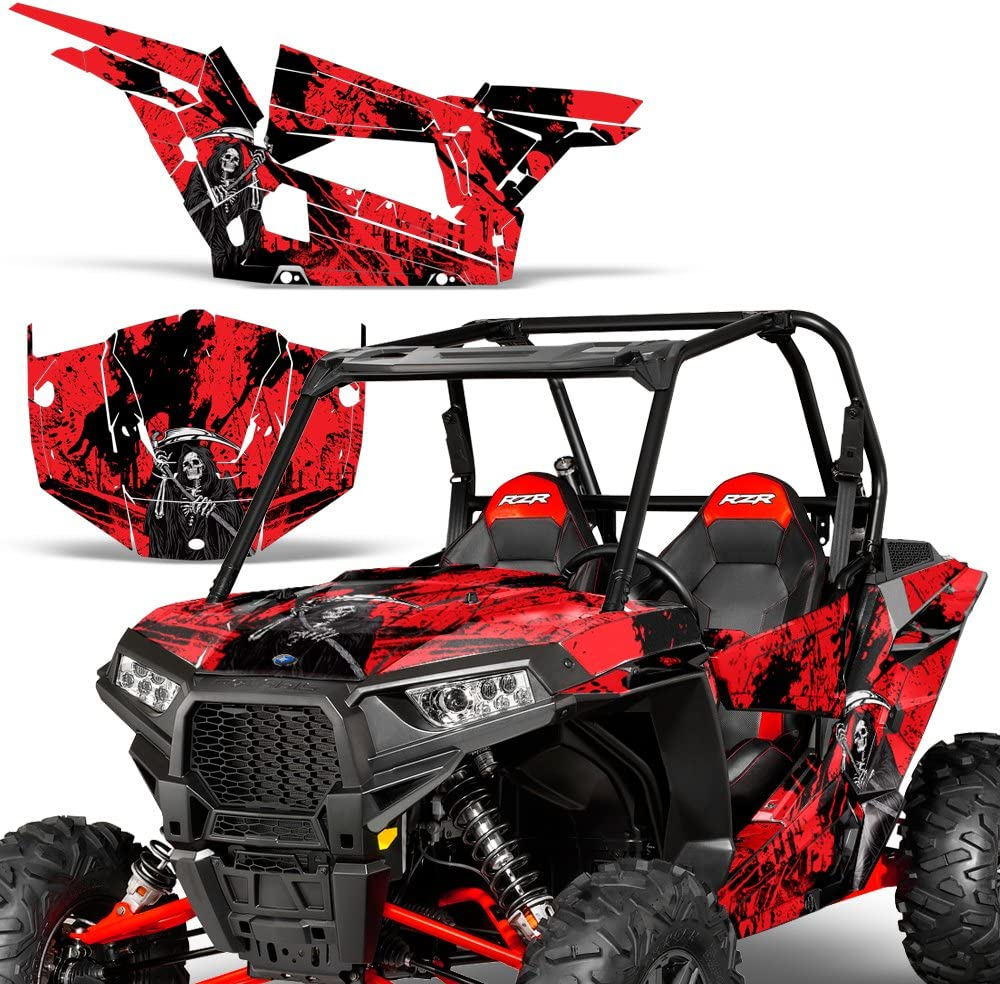 POLARIS RZR XP1K 1000 UNIVERSAL REPACEMENT EMBLEM STICKER GRAPHIC VINYL DECAL