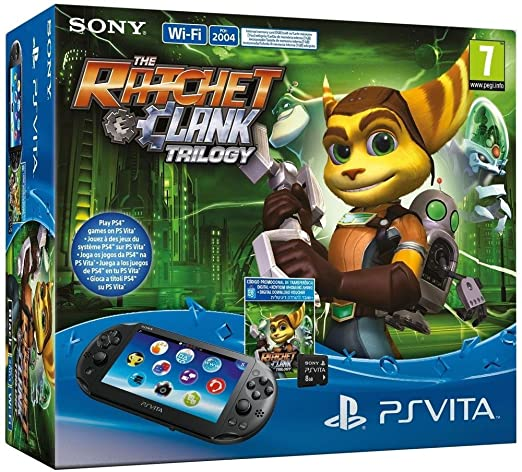 Console Playstation Vita Wifi + The Ratchet & Clank Trilogy ...