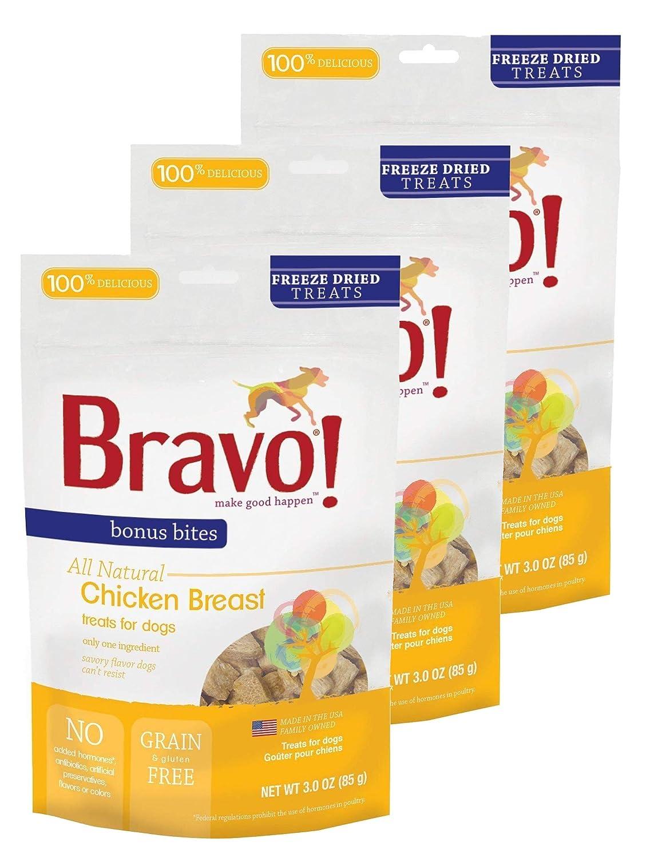 Bravo!Freeze Dried  cken Breast 3 oz. 3 Pack