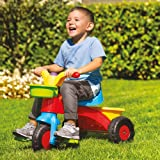 Speelgoed My First Ride Trike Kids Childrens Multi-Coloured Outdoor Pedal Bike with Horn