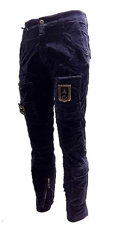 Nuovi Prodotti belle scarpe nuovo design Aeronautica Militare Pantalone Anti-G PA1256CT in Velluto ...