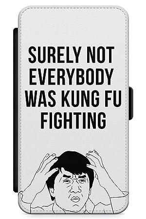 iPhone 6 / 6s Pelea De Kung Fu Funda de Teléfono de Goma Cover Gracioso Jackie Chan Meme por Qué Claro: Amazon.es: Electrónica